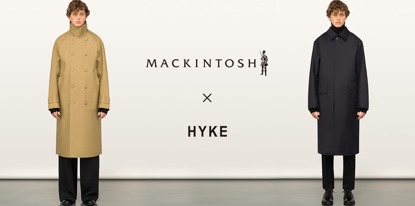 MACKINTOSH �~ HYKE