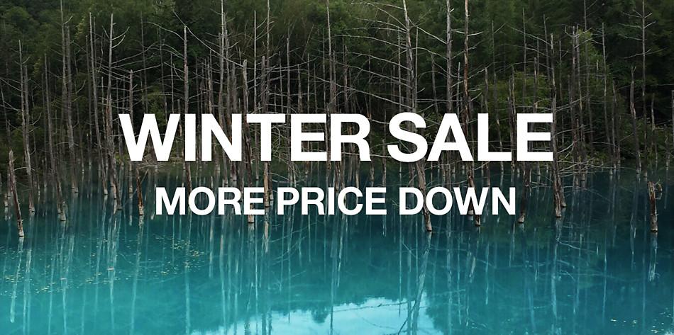 WINTER SALE MORE PRICE DOWN
