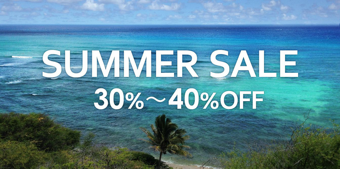 SUMMER SALE 30%�`40%OFF