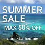mirabella homme SUMMER SALE