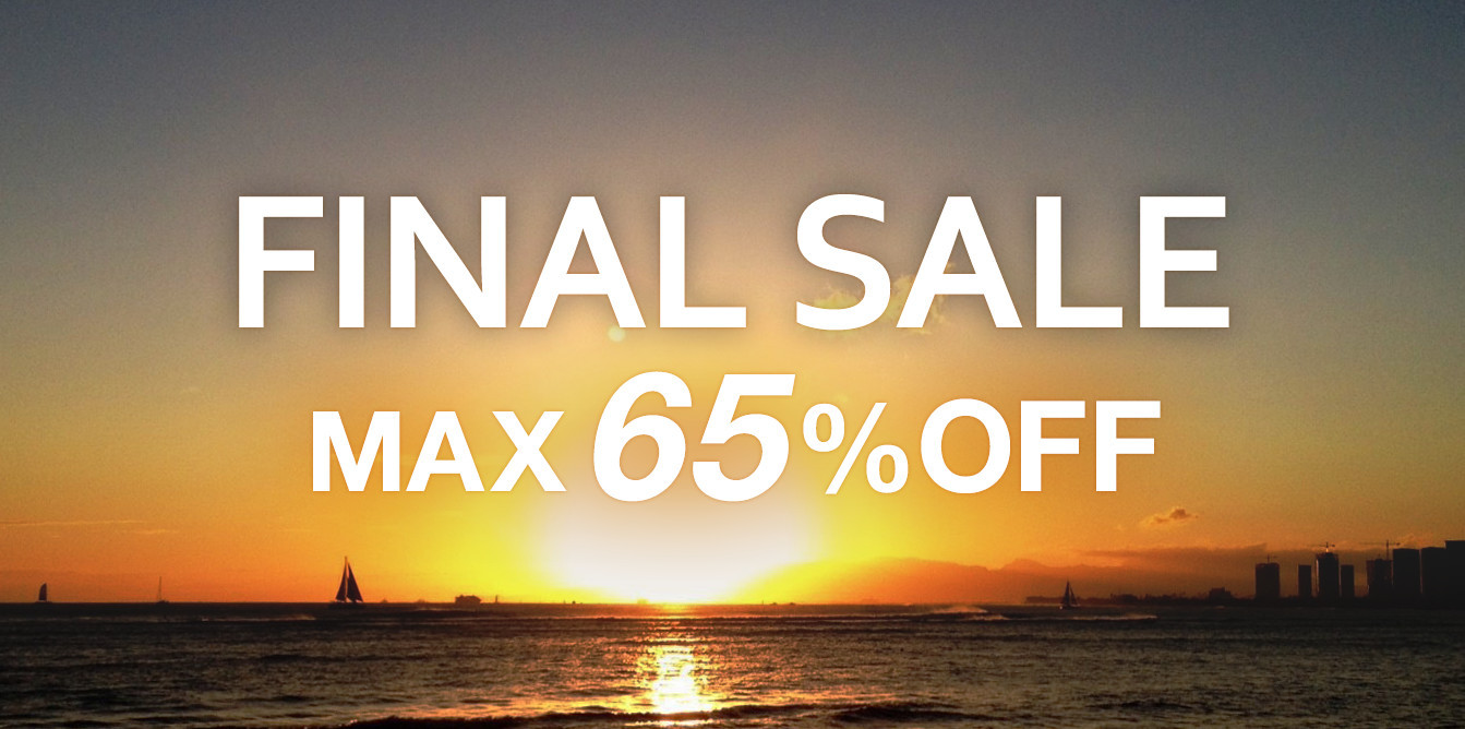 FINAL SALE MAX65%OFF