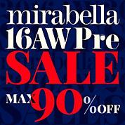 mirabella 2016 AW PRE SALE