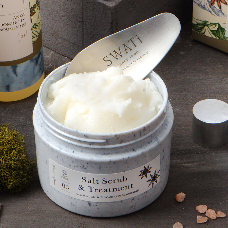 #04  SWATi (スワティ) SaltScrub&Treatment(Anise blooming in Mountains!)