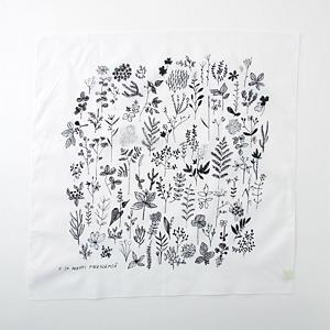 <集英社> CINQ サンク 大きめのハンカチ(しょくぶつ) しょくぶつ画像