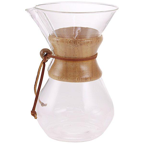 【送料無料】ケメックス ケメックス コーヒーメーカー 木カバー付き 6カップ用 F