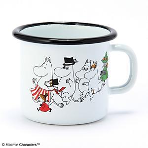 <集英社> POS ピーオーエス マグカップ ムーミンヴィレッジ ムーミン スティンキー画像