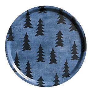 <集英社> 丸トレイ 38cm GRAN(ブルー×ブラック) FERN(マルチ) GRAN(ホワイト×ブラック) GRAN(グリーン×ホワイト) 38cm