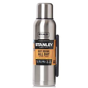 <集英社> STANLEY スタンレー 真空ボトル 1.3L シルバー画像