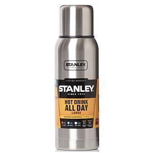 <集英社> STANLEY スタンレー 真空ボトル 1L シルバー画像