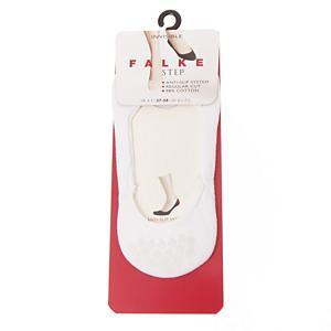<集英社> FALKE ファルケ STEP INVISIBLE(スニーカーソックス 浅型) ホワイト グレー 37-38(23-24cm) レディース画像