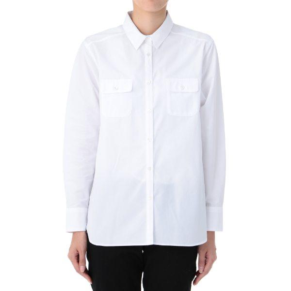 NIMES ニーム タイプライターチュニックシャツ オフ ベージュ サックス F レディース
