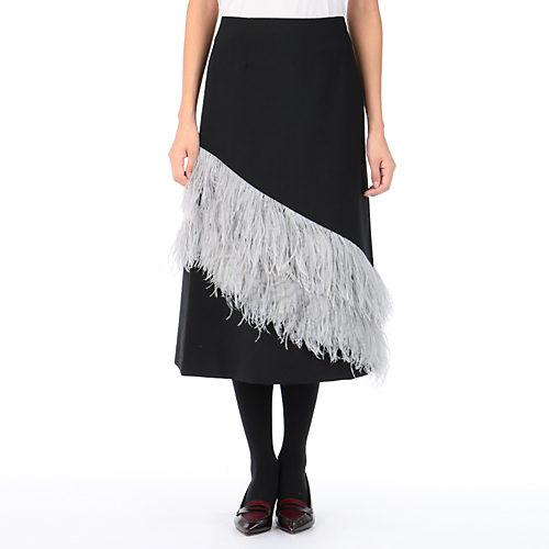 「地味スゴ!校閲ガール」3話の石原さとみちゃん衣装のフェザースカート