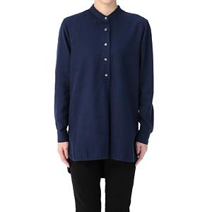 <集英社> LA MARINE FRANCAISE マリン フランセーズ フレンチツイルシャツチュニック ネイビー F レディース画像