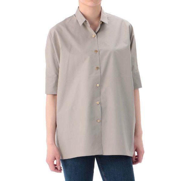 THE SHIRT 14 コットンシャツ ベージュ 1 レディース