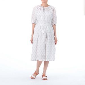 <集英社> Les Olivades レゾリヴァード MI—MAZAN ドレス ホワイト F レディース画像