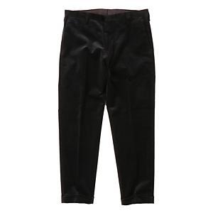 <集英社> PAUL SMITH ポールスミス COTTON VELVET ANKLE CUT PANTS ブラック M メンズ画像