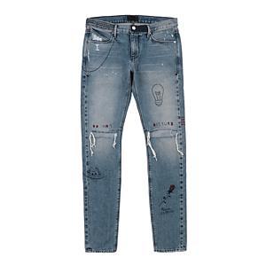 <集英社> RTA アールティーエー Custom Skinny Jeans ライトブルー 29 30 31 32 メンズ