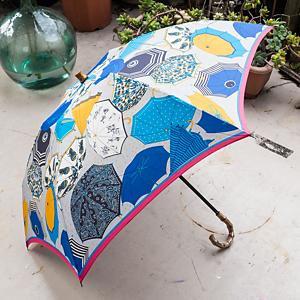<集英社> manipuri マニプリ 折り畳み傘 ブルー F レディース