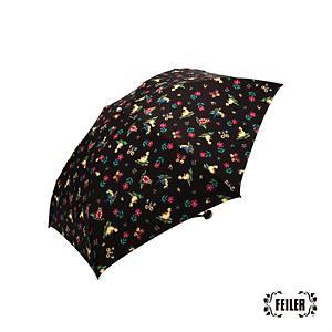 <集英社> FEILER フェイラー ハイジ 雨晴兼用折り畳み傘(JEHE−171029) ブラック F レディース画像