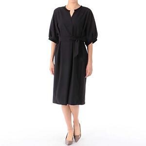 <集英社> Munich ミューニック ドレス ブラック ベージュ F レディース画像