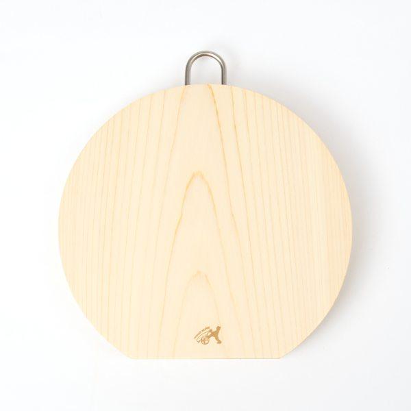 """""""土佐龍 トサリュウ 四万十桧厚型丸まな板(一枚板)24cm"""""""