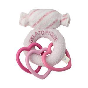 <集英社> gelato pique ジェラート ピケ スムーズィーキャンディーガラガラ ピンク F ベビー画像