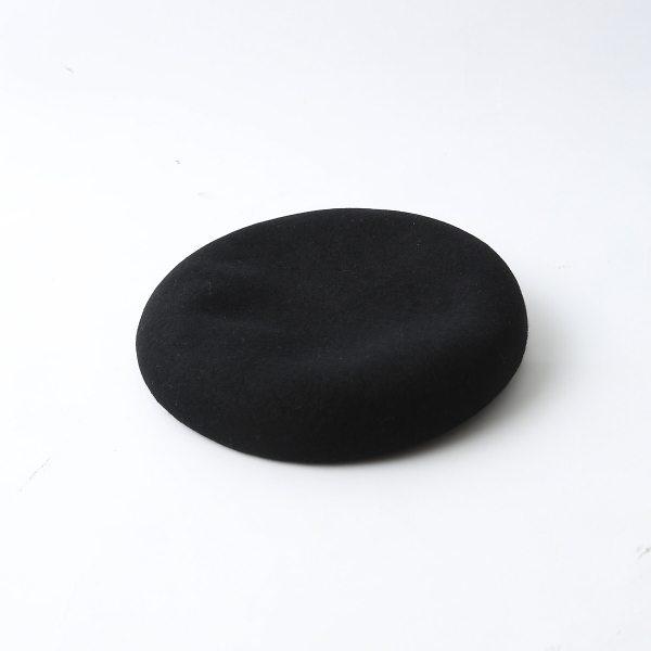 Rouge vif ルージュ・ヴィフ ウールベレー帽 ブラック F レディース