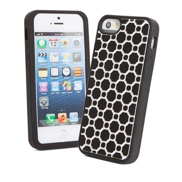 【コンビニ後払いOK】Vera Bradley ヴェラ・ブラッドリー Soft Frame Case for iPhone 5/5S Midnight Geometr F レディース