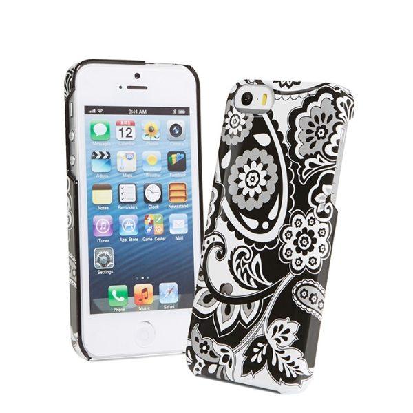【コンビニ後払いOK】Vera Bradley ヴェラ・ブラッドリー Snap On Case for iPhone 5 5S Midnight Paisley F レディース