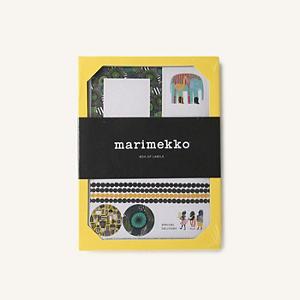 <集英社> marimekko マリメッコ ステッカーセット マルチカラー F レディース