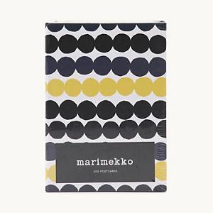 <集英社> marimekko マリメッコ ポストカードセット マルチカラー F レディース