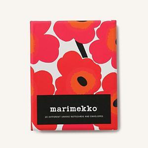 <集英社> marimekko マリメッコ Unikko カード&封筒セット マルチカラー F レディース