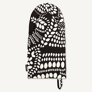 <集英社> marimekko マリメッコ Nasia オーブンミトン オフホワイト×ブラック F レディース画像