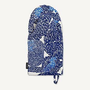 <集英社> marimekko マリメッコ Mynsteri オーブンミトン ホワイト×ブルー F レディース画像