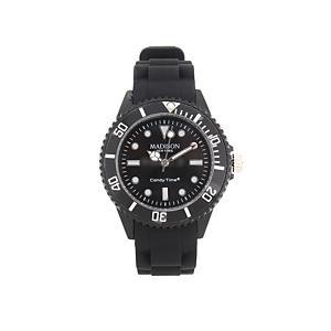 <集英社> Daily russet デイリーラシット OriginalMini/腕時計 ブラック オレンジ ネイビー F レディース画像