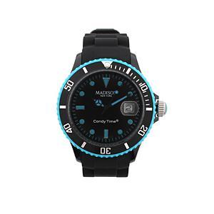 <集英社> Daily russet デイリーラシット BlackLine/腕時計 ブルー F レディース画像