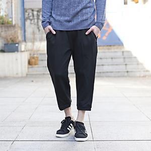<集英社> BASECONTROL ベースステーション basic sweat 3/4 pants ブラック 01(S) メンズ画像