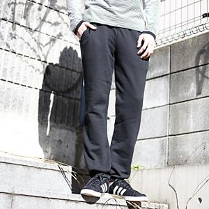 <集英社> BASECONTROL ベースステーション basic sweat long pants ブラック グレー系 01(S) 02(M) メンズ画像