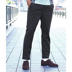 <集英社> tk.TAKEO KIKUCHI ティーケー タケオキクチ ストレッチイージーパンツ ネイビー ライトグレー ブラック ダークブラウン 02(M) 03(L) 04(LL) メンズ画像