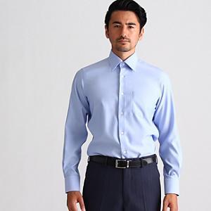 <集英社> TAKEO KIKUCHI タケオキクチ オックススーパードライシャツ ライトブルー 01(S) 03(L) メンズ画像