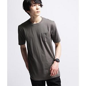 <集英社> BASECONTROL ベースステーション ■【JAPAN MADE】30コットンロングシルエットT-シャツ チャコールグレー オフホワイト ブラック 02(M) 03(L) 01(S) メンズ画像