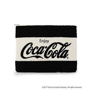 <集英社> AG by aquagirl エージーバイアクアガール 【別注】Coca-Colaクラッチバッグ ブラック グリーン レディース画像