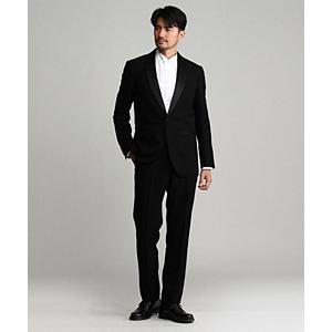 <集英社> TAKEO KIKUCHI タケオキクチ タキシードクロスシングルスーツ ブラック 01(S) 03(L) 04(LL) メンズ画像