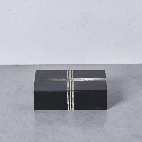 【コンビニ後払いOK】UNITED ARROWS ユナイテッドアローズ モザイク ボックス ブラック BLACK FREE レディース