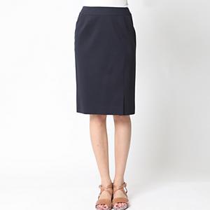 <集英社> アウトレット Viaggio Blu ビアッジョブルー 【セットアップ対応】ポンチタイトスカート ネイビー ロイヤルブルー M(2) SS(0) レディース