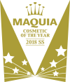 MAQUIA COSMETIC OF THE YEAR 2018 SS