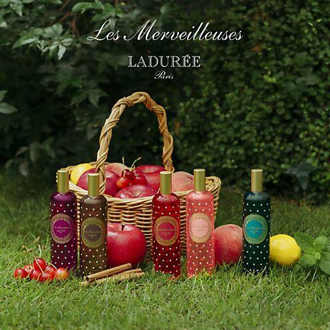 ラデュレの新作フレグランスサンプル・ボディシートプレゼント