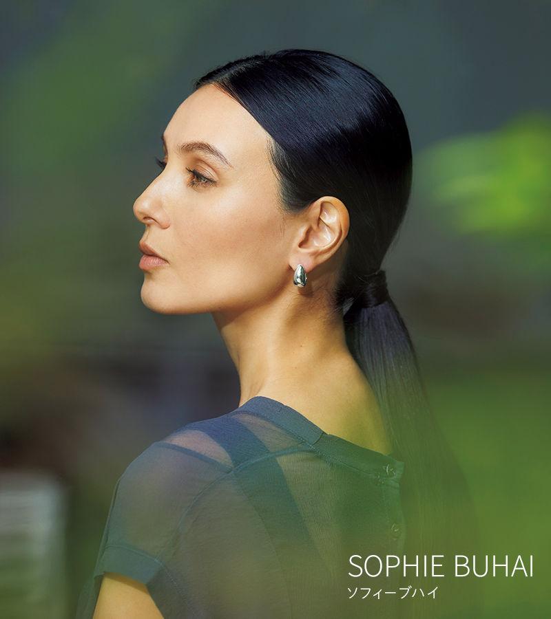 SOPHIE BUHAI ソフィーブハイ SOPHIE BUHAI フープピアス(シルバー)