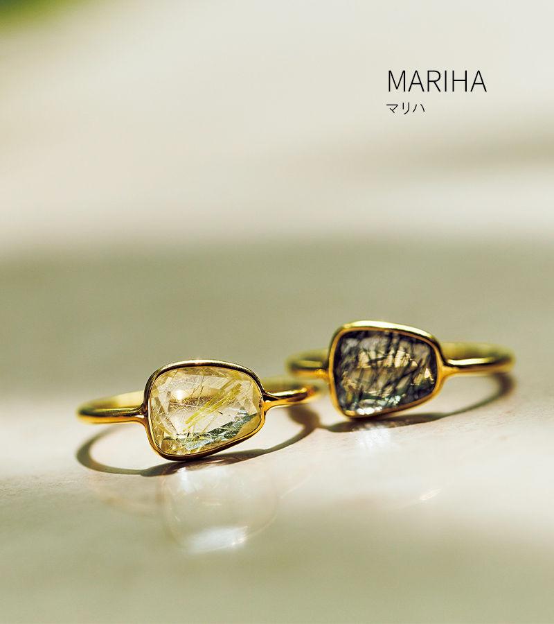 MARIHA Organic Gems リング S