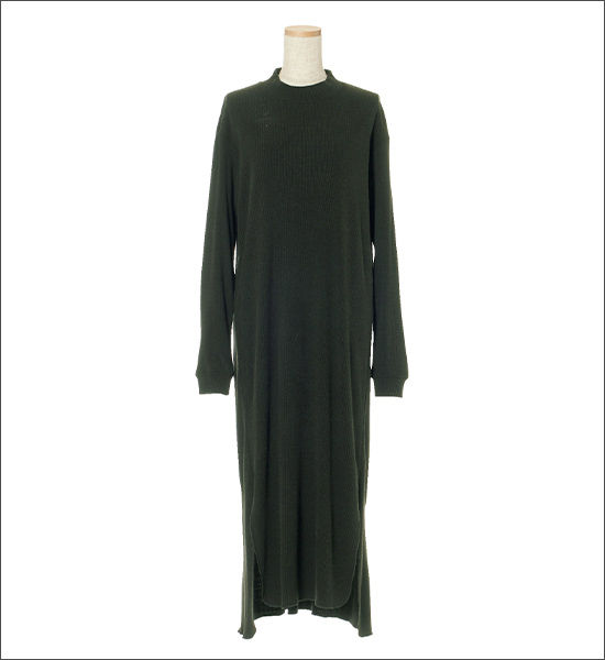 unfil (アンフィル) シルクジャージーTシャツドレス